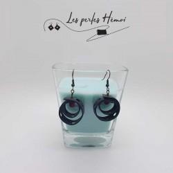 Boucles d'oreilles faits main | Bijoux créateurs lyon | Bijoux fantaisies | Boucles d'oreilles en chambre à air