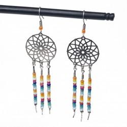 Bijoux fantaisies | boucles d'oreilles fantaisies | Bijoux fantaisies faits main lyon | Boucles d'oreilles attrape-rêve