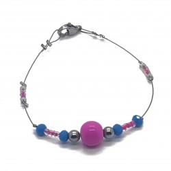 Bijoux fantaisies lyon | bracelet fantaisies lyon | Bracelet fil cablé | Bracelet perles hématites