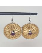 Bijoux fantaisies | Boucles d'oreilles artisanales | Boucles d'oreilles originales | Bijoux faits main | Bracelets de créateurs lyonnais